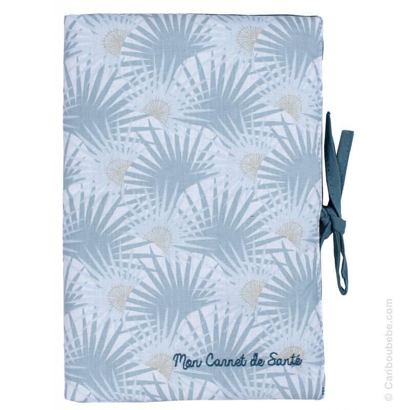 Protège Carnet de Santé Palm Springs Imprimé Palmiers Vert BB&Co
