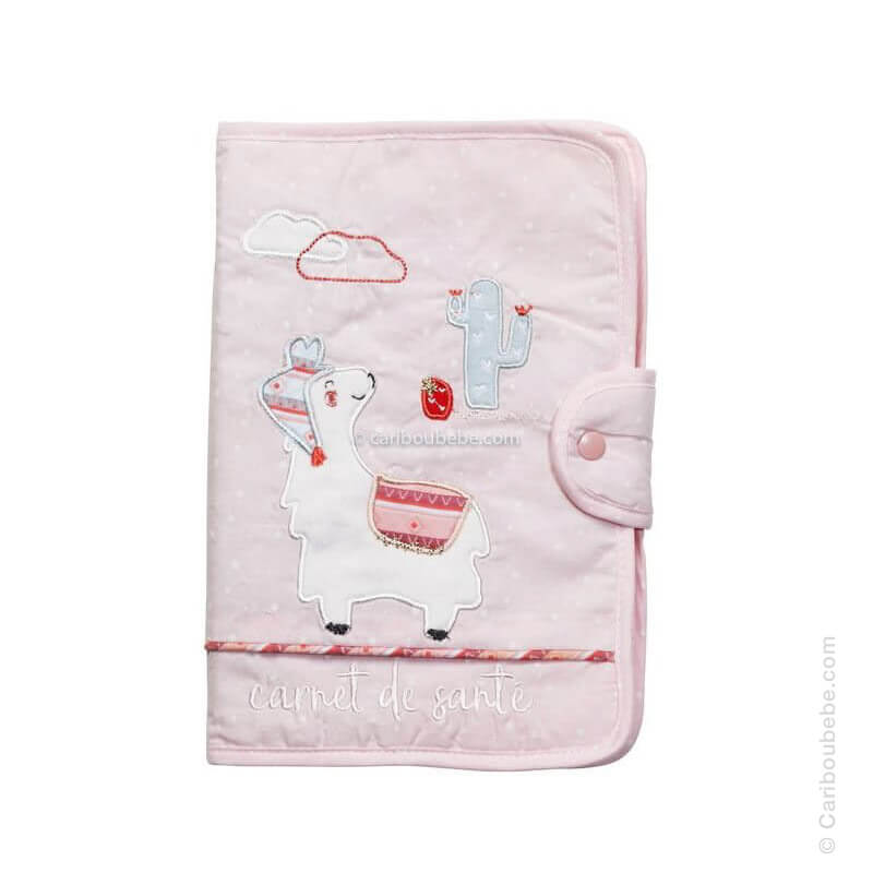 Protège Carnet Santé Mila Sauthon Baby Déco