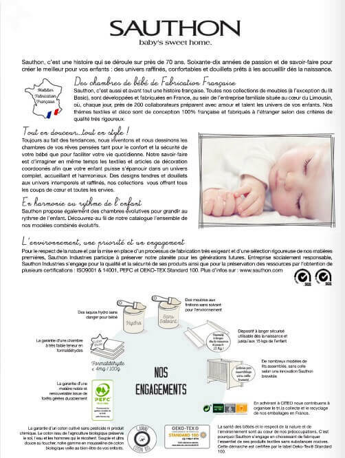 Informations Meubles Sauthon
