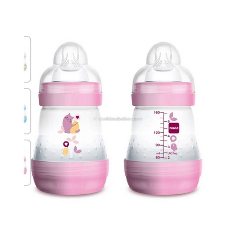 Biberon Easy Start Anti Colique 160ml Rose Mam Baby
