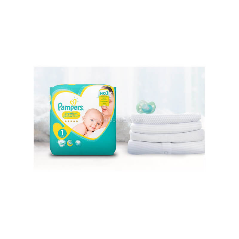 Couches Jetables N1 Pampers