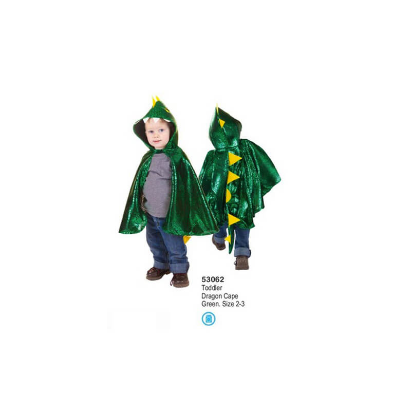 Todder Dragon Cape Green Great Pretenders