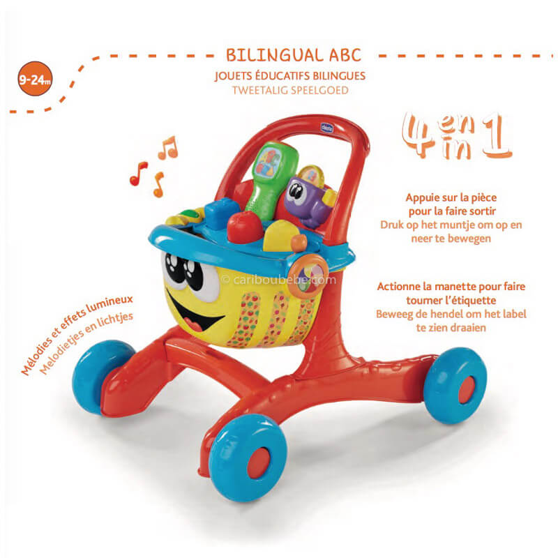 Happy Shopping Bilingue 9-24M Chicco